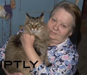 Masha, la gatta randagia che ha salvato il neonato