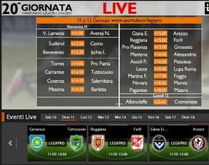 Giana Erminio-Arezzo: diretta streaming su Sportube.tv, ecco come vederla