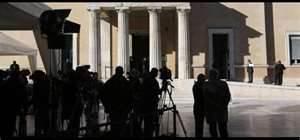 Giornalisti stranieri ad Atene