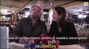 """VIDEO YouTube. Beppe Grillo: """"Napoletano parla di onestà..."""". Querelato"""