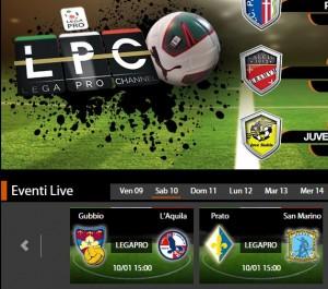 Gubbio-L'Aquila: diretta streaming su Sportube.tv, ecco come vederla