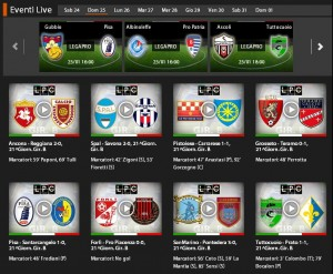 Gubbio-Pisa: diretta streaming su Sportube.tv, ecco come vederla