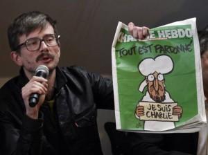 """Charlie Hebdo, vignettista Luz: """"Ho disegnato ancora Maometto, ho pianto"""""""