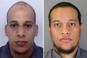 I fratelli Cherif Kouachi, a sin, e Said Kouachi, di 32 e 34 anni