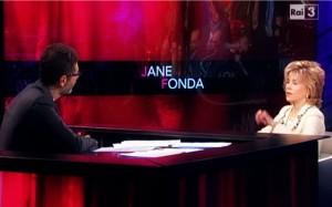 """Jane Fonda a Che tempo che fa: """"Sesso? La sensualità è più importante"""" VIDEO"""