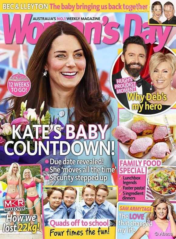 """Kate Middleton, volto rovinato su """"Woman's Day"""" per colpa di Photoshop"""