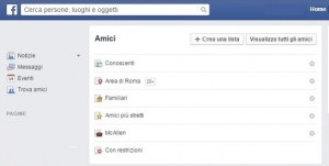 Facebook, come creare liste persone non desiderate senza rimuoverle