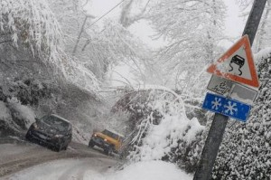 """Maltempo, allerta in Campania: """"Nevicate e gelate fino al 7 gennaio"""""""