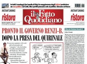 """Marco Travaglio sul Fatto Quotidiano: """"Vita dei Giuliani Amati/2"""""""
