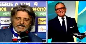 Massimo Ferrero canta, Enrico Varriale ride
