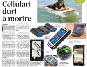 Smartphone e tablet più resistenti. L'elenco del Messaggero