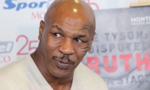 Mike Tyson (foto Lapresse)