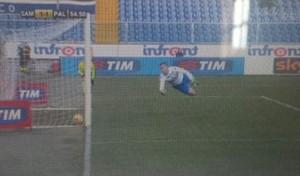 VIDEO YouTube: Morganella gol fantasma in Sampdoria-Palermo