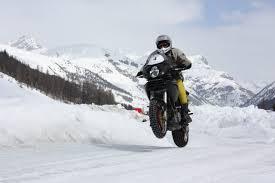 Gomme da neve per moto? Non sono obbligatorie