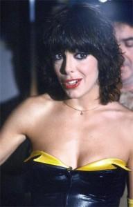 Nadia Cassini negli anni '70, nel periodo di maggior successo