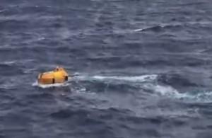 Turista americano cade da crociera in mare: seconda nave lo salva