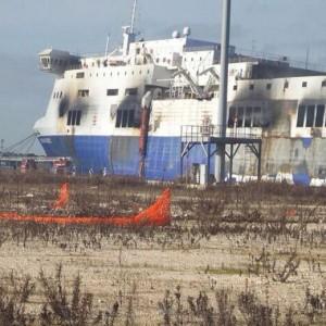Norman Atlantic, incendio sul ponte 4 del traghetto