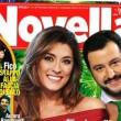 Novella 2000, Matteo Salvini ed Elisa Isoardi in prima pagina FOTO