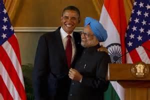 Obama con premier indiano Manmohan Singh