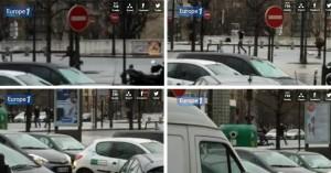 Parigi: telecamere dall'assedio, la tipografia e il negozio