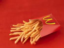 McDonald's, gli ingredienti delle patatine in Italia