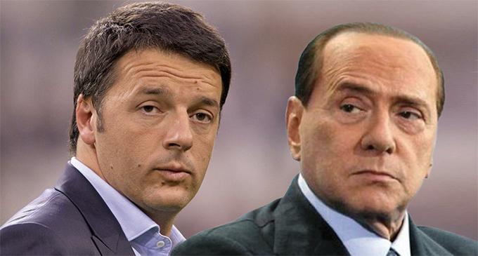 Quirinale Matteo Renzi Silvio Berlusconi (blitzquotidiano.it)