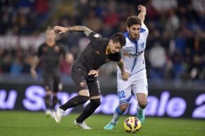 Roma-Empoli 2-1. VIDEO gol, pagelle, FOTO. De Rossi rigore decisivo