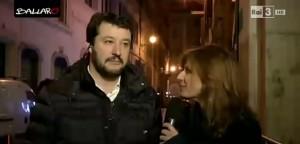 """Matteo Salvini a Ballarò VIDEO: """"Tre volte vaffanculo. Sentenza consulta infame"""""""