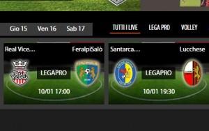 Santarcangelo-Lucchese: diretta streaming su Sportube.tv, ecco come vederla