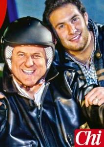 """Gerry Scotti, il figlio Edoardo in tv con lui a """"Lo show dei record"""""""