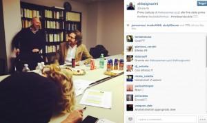 """Alfonso Signorini e la battuta hot di Alessia Marcuzzi: """"Me la sento calda..."""""""