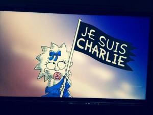 Simpson, tributo a Charlie Hebdo