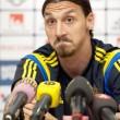 Zlatan Ibrahimovic (foto Lapresse)