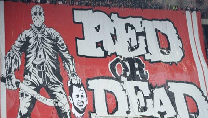 """Standard Liegi, striscione stile """"Isis"""" contro l'ex capitano ora all'Anderlecht FOTO"""