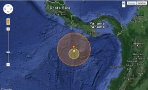 Terremoto Panama, scossa di magnitudo 6.6 registrata al largo di Punta de Burica