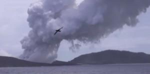 Nuova Zelanda: eruzione vulcanica nell'arcipelago di Tonga crea nuova isola
