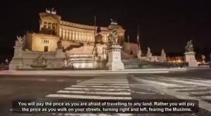 """Isis: """"Conquisteremo Roma"""", gira video Youtube. Ma è un falso"""