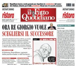 """Marco Travaglio sul Fatto Quotidiano: """"Andante con ritmo"""""""