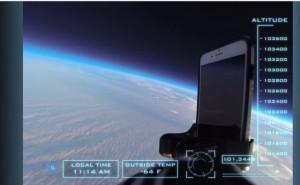 VIDEO YouTube - L'iPhone 6 spedito nello spazio