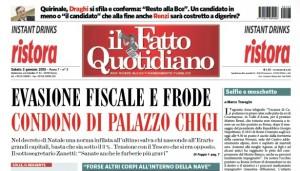 """Marco Travaglio sul Fatto Quotidiano: """"Selfie e moschetto"""""""