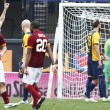 Verona-Roma 1-1. Pagelle-VIDEO gol: Totti c'è, Gervinho e Pjanic no