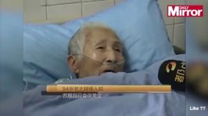 VIDEO YouTube. Liu Jieyu, cinese 94 anni: si sveglia da coma, parla solo inglese