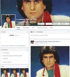 """""""La stessa foto di Toto Cutugno ogni giorno"""" diventa un caso negli Usa"""