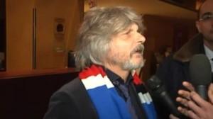 """Massimo Ferrero contro giornalista: """"Lei dice soltanto cazzate"""" VIDEO"""