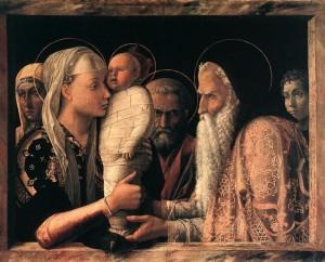 Vangelo di Luca, Gesù al Tempio. Simeone e Anna riconoscono il Redentore