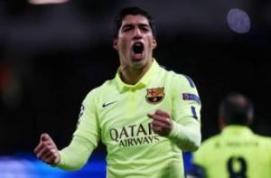 Champions, Manchester City-Barcellona 1-2: Luis Suarez doppietta