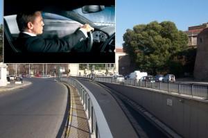 Roma, riprese nuovo film 007: su via Nomentana affitti a mille euro al giorno