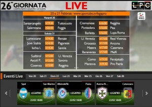 Albinoleffe-Pavia: diretta streaming su Sportube.tv, ecco come vederla