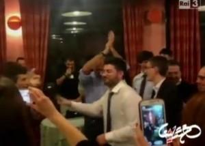 "Alfano balla ""Ymca"" dei Village People a Séstrière VIDEO"