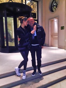 Anna Tatangelo e Gigi D'Alessio (foto Facebook)